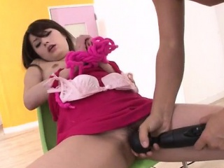 Runa Ayase rough toy porn in low-cost manners