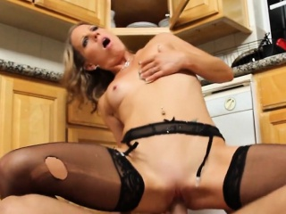 Small Tits Festival In Ebon Stockings Fucked Alyssa Dutch