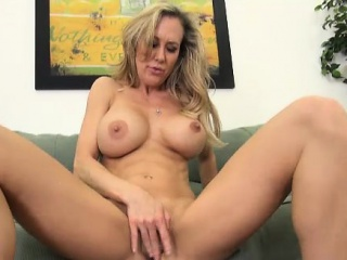 Fair-haired Leader MILF Ride herd on he Pussy Desolate