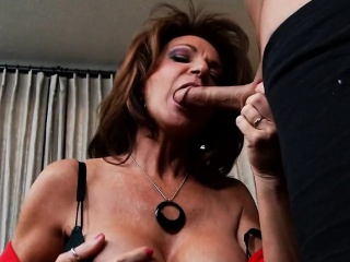 Heavy Titties Brunette MILF Loves Young Eclipse Ache Load of shit Deauxma,