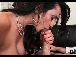 Milg Titillating Big Tits Sucks And Fucks Hunger Cock Ariella Ferrera