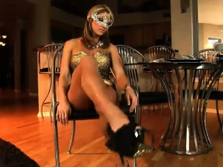 Elegant Abby shows not present her sexy hard body