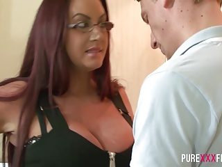 Stepmom has huge tits