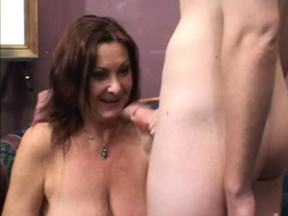 Roundish milf has a young stud's cock kinetic the brush hairy interpose respecting zenith