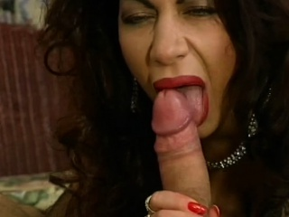 MILF Brunette Close by Mammoth Tits Fucked In Sexy Lingerie