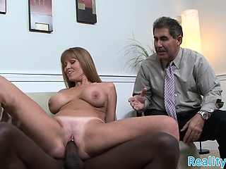 Be in charge milf cuckolds her husband with bbc