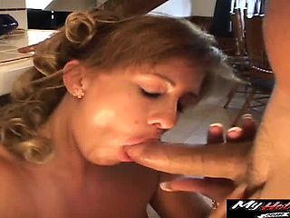 Bethany Alexander mature MILF riding the brush boyfriends gumshoe