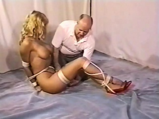 Bizarre large-breasted blonde certainly likes gonzo Control A