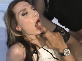 Double Vaginal Big-shot - German Guck Girls