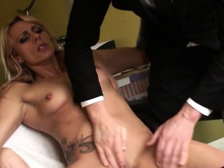 Pussy fingered brit enjoys rough antidepressant