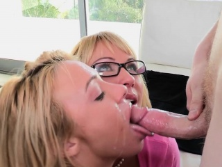 Bigbooty spex MILF facialized increased by doggystyled
