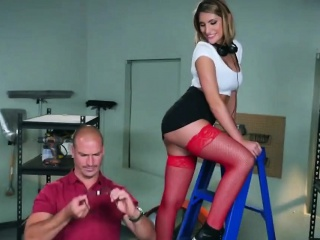 Horny staff member teaches ass all round boss, by an increase