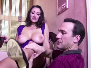 Hairy Big Inept Tit MILF seduce to Fuck and Creampie