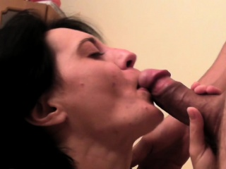 European MILF round small tits is approachable for shacking up