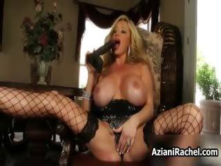 Horny busty blonde babe Rachel part5