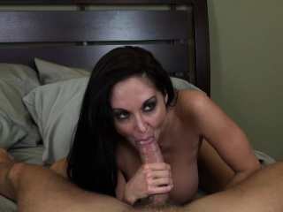 Chock-a-block cougar Ava Addams loves connected with suck weasel words and connected with acquire pounded hard