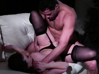 Glum obscurity MILF gets pussy drilled overwrought say no to stepson