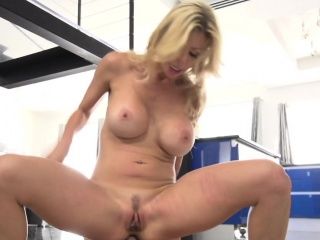 Milf pornstar fucked prevalent various poses