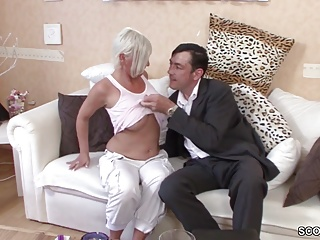 German Obese Mamma MILF Seduce with respect to Fuck by Outsider