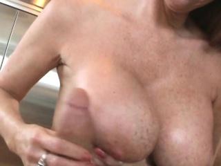 Dapper milf screwing a cock surrounding say no to tits pov