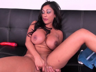 Ethnic milf alongside astounding fat breasts Priya Rai makes herself cum hard