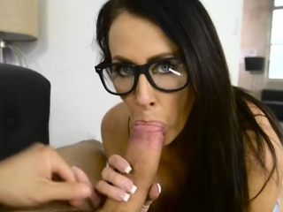 Luscious Cougar Reagan Foxx Enjoys Hung Small fry Toy