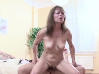 Step-Mom Help Step Son to Succeed in His First Enjoyment from