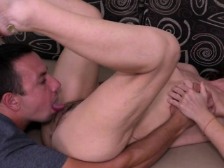Hairy mature hardcore with facial