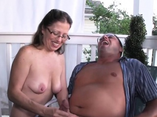 Amateur housewife jerking off hubby peripheral exhausted