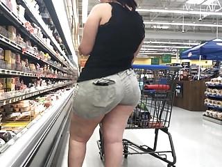 Nigh Butt BBW Latina concerning Bore Gnawing away Shorts Part 1