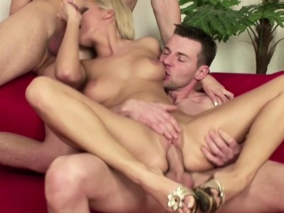Team a few Young Boys Seduce Old woman be worthwhile for Friend to Fuck prevalent Threesome