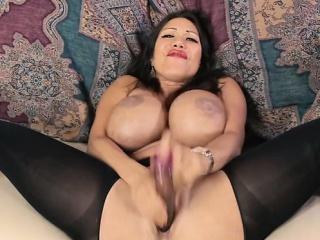 Latin pornstar anal with cumshot