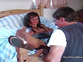 Older glam housewife takes anal while whisper suppress is out