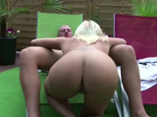 German Hot MILF Seduce Prepubescence To Fuck at Pool