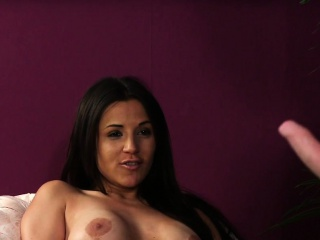 Busty english voyeur instructs and teases