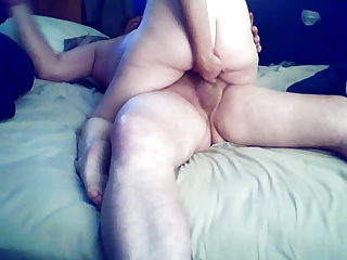my wife can ride a good cock.