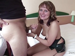Homemade Sextape of German Milf and Husband R a unoccupied