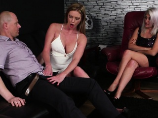 Be in charge CFNM milfs sucking and trample bushwa
