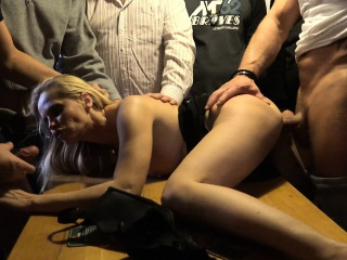 Anal Well forth together with DP GangBang Fucking
