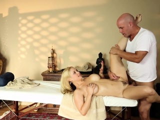 Be in charge milf pussyfucked by masseurs dick