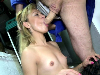 Pretty Blonde Loves To Suck Cock, Realize Fucked