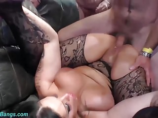 shove around german Milf extreme banged