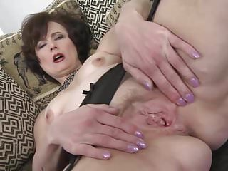 Classy mature lassie with very hungry vagina