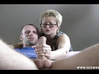 POV Person Caught Up Stroking His Chunky Load of shit