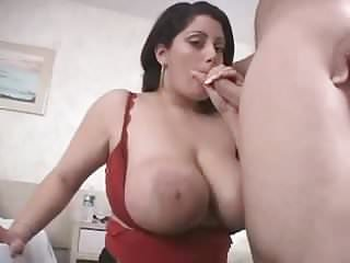 Big infant with obese natural tits screwing together with taking facial