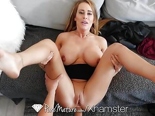 Stepmom anal pounded off out of one's mind loser son