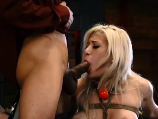 Tiny flunkey Big-breasted towheaded hottie Cristi Ann is exceeding