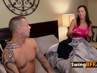 Swinger couple wants to horseplay