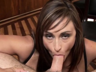 POV blowjob overwrought MILF