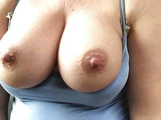 Top-drawer knockers bouncing as I fuck myself April 2019